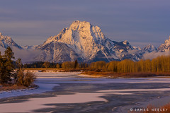Moran Morning (James Neeley) Tags: gtnp grandtetonnationalpark oxbowbend winterlandscape mountmoran jamesneeley