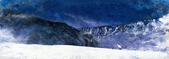 Starry Night over Mt. Nanhu (baoling) Tags: art painting   snowscape