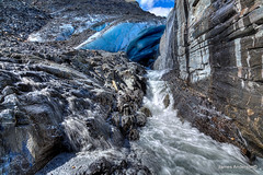 rocky glacier (820-Photography by James Anderson) Tags: alaska pass thompson thompsonpass worthingtonglacier