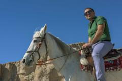 Ancient sites (tmeallen) Tags: blue sky horse white iran rider tombs archeological achaemenid ancientsite limestonecliffs naqsherostam marvdahst
