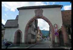 Puerta de entrada a Oppenau (wircky) Tags: schwarzwald blackforest selvanegra oppenau
