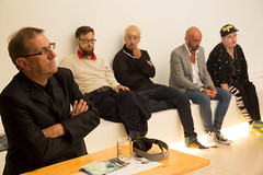 photoset: MuseumsQuartier Wien: Die Projektemacher*innen – Szenen des Entwerfens (5.9.2015, Arena21)