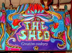 The Shed in Santa Fe (Hana Videen) Tags: newmexico santafe restaurant unitedstates theshed