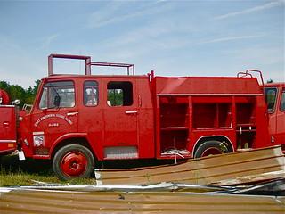 1976 BERLIET-Camiva 770KB Fire-engine Crew Cab