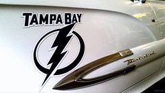 Go #TBLightning #GoBolts (amateur photography by michel) Tags: blue white ford sports hockey tampa logo nhl bay tampabay chrome lightning thunderbird magnet lightningbolt stanleycup allin lightningstrikes visitflorida isitoctoberyet gobolts squarebirds tblightning becauseitsthecup bethethunder boltsnation instawingames boltssocial