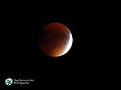 Blood Lunar Eclipse (stephanieamberphotography) Tags: red sky moon night eclipse