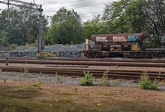 IMG_2966 - Paint your wagon.. (ragnarfredrik) Tags: wagon trains rails