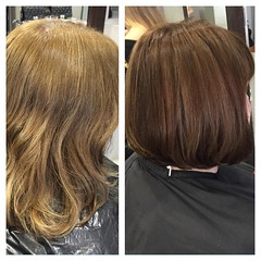 "#beforeandafter #cutandcolor #newcolor #bob #wellahair @blush_haircardiff • <a style=""font-size:0.8em;"" href=""http://www.flickr.com/photos/119571362@N02/21862121140/"" target=""_blank"">View on Flickr</a>"