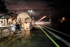 Stazione Notte 28 Oct 15 (andy_colom) Tags: panorama ghost notte paesaggio parabiago
