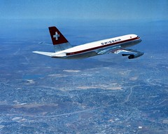 01_00093534 Convair 880 950-61 Swissair 8Aug61 (San Diego Air & Space Museum Archives) Tags: from museum digital that with image please space air tag diego can images be these information dynamics donated permanently stored a sdasm filerepository hrefhttpwwwsandiegoairandspaceorglibrarystillimageshtml relnofollowsan convairgeneral
