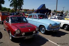 Simca 1200S et P60 (fangio678) Tags: classic cars voiture collection 02 coche oldtimer et 08 ancienne simca 1200s youngtimer p60 2015 entzheim voituresanciennes retrorencard