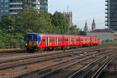 455910 (40011 MAURETANIA) Tags: vauxhall southwesttrains southwest swt blue red class 450 455 456 444 458 159 waterloo train unit emu electricmultipleunitparliament housesofparliament