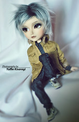 Grey boy... ❤ (·Yuffie Kisaragi·) Tags: doll horizon custom akai arashi obitsu caim taeyang rewigged rechipped