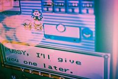 (iugmoura) Tags: pink boy game film yellow analog 35mm 50mm video fuji pentax k1000 nintendo pussy 64 pikachu pokemon fujifilm provia