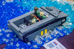 LVT-4 (SEdmison) Tags: california lego military convention santaclara lvt4 landingvehicle bricksbythebay bricksbythebay2015
