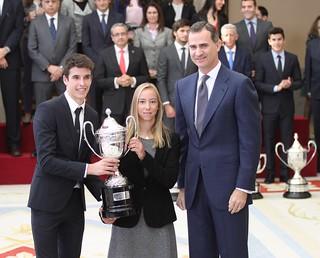 Aina Colom recoge el Premio Princesa Leonor