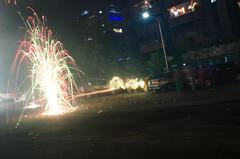 Diwali Fireworks (ashwin kumar) Tags: apartments fireworks flowerpot diwali crackers deepawali deepavali suncity busvaanam bussvaanam