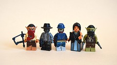 Cowboys and Aliens (th_squirrel) Tags: cowboys lego space mashup aliens scifi fi minifig minifigs sci minifigure minifigures