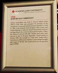 1936 Auburn 852 Cabriolet Info (Jack Snell - Thanks for over 26 Million Views) Tags: sf auto show ca 58th wallpaper art cars wall 1936 vintage paper san francisco display auburn center international collectible moscone cabriolet 852 excotic jacksnell707 jacksnell accadomy