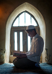 iranian shiite muslim student reading the koran in a madrassah, Golestan Province, Karim Ishan, Iran (Eric Lafforgue) Tags: school boy portrait people house building male window vertical architecture religious reading book student ancient worship child iran madrasah muslim islam traditional faith bricks religion praying middleeast historic indoors historical shia orient kneeling madrassa pupil prayers oneperson islamic quran koran shiite caravansaray madrassah caravanserai turkmen gorgan golestanprovince persiangulfstates caravansary   16010 oneboyonly colourimage 1people  iro torkaman shiism  onechildonly westernasia  gomishan karimishan