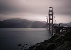 Golden Gate Bridge: San Francisco  Marin County (Darren LoPrinzi) Tags: ocean california ca bridge sea seascape mountains water northerncalifornia fog canon landscape pacific marin scenic landmark pacificocean goldengatebridge goldengate marincounty 5d canon5d iconic miii
