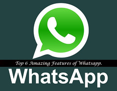 Top 6 Amazing Features of Whatsapp useful tips (brar_j) Tags: for pc support blackberry hidden more emoticons download features android status trciks whatsapp