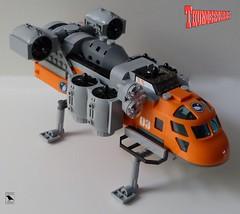 HeliJet Thunderbirds (BricksRaven) Tags: lego thunderbirds helijet moc foitsop