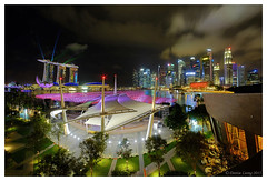 In the mood of 2016 - Marina Bay (|SiLeNcE|) Tags: singapore esplanade wishingspheres singaporecountdown marinabaycoundown marinabaycountdown2016