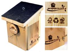 Sello para marcar cajas nido