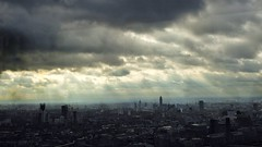 Storm Clouds over London (Nick Fewings 4.5 Million Views) Tags: panasonic surreal moody ominous rain dark breathtaking amazing wow view amateur photographer british nickfewings unitedkingdom uk capital urban cityscape city clouds storm vista landscape building fenchurchstreet vertigo42 london