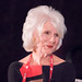 American public radio talk show host, Diane Rehm, tells her life's story to a packed crowd at the DC Convention Center.