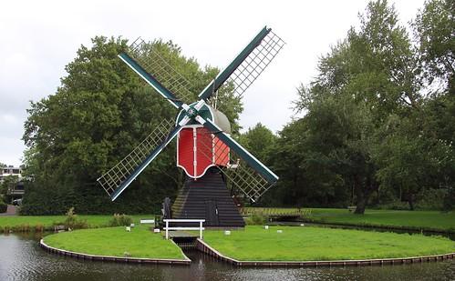 Nederland - Zuid-Holland - Oegstgeest - Oudenhofmolen - 1783
