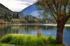 ....come nelle favole (lefotodiannae) Tags: lefotodiannae monasterolo del castello bergamo lombardia italia paesaggio lago di endine colore riflessi autunno panorama