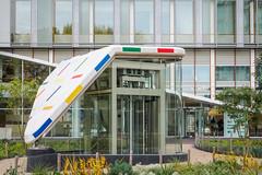 EM10-142863 (Luc de Schepper) Tags: amsterdam architecture olympus1240mmf28 olympusem10 zuidas mondriaan