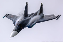 Su-34 (RealHokum) Tags: sukhoi su34 fullback fighter bomber airshow aircraft airplane aviasalon maks2013 zhukovsky ef200400 russianairforce