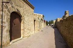 Alcdia, Stadtmauer (uwe.potsdam) Tags: balearen mallorca alcdia altstadt insel