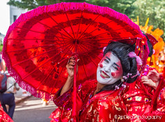 Notting Hill   TrinDiego (TrinDiego) Tags: carnival nottinghill costume street party festival parade london 2016 beauty beautiful catchy colour streetphotography catchcolours uk performer bright red chinese oriental nottinghillcarnival