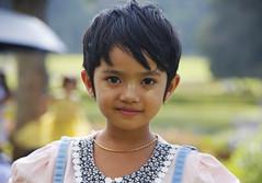 (cherco) Tags: portrait girl myanmar tanaka inocencia innocence colour color eyes pretty canon 5d smile sonrisa