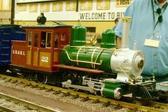Southland model train show. (Chicago Rail Head) Tags: modeltrains modeltrainshow localmodeltrainclubs differentscales steamlocomotives diesels nhoso27ggauge oaklawnill gguage lmb