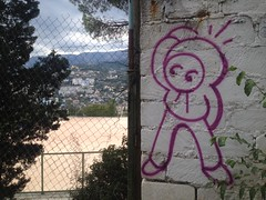 Street Art (Fym  You) Tags: streetart street art graffiti graff rus russia yalta crimea south black sea cartoons characters msamek samek sam fym fyms fymers fymoments
