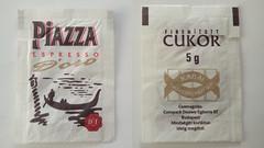 Piazza Espresso d'oro 01 (periglycophile) Tags: priglycophilie sucrology sugar packet sucre sachet piazza espresso doro cukor hongrie hungary
