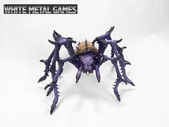 Reaper Colossal Spider Fiend (whitemetalgames.com) Tags: reaper demons devils bones spider colossal arachnid orcus demon lord undeath ice devil gelgulon displacer beast rust stalker dd pathfinder generic fantasy models wmg white metal games raleigh nc commisson painting studio hobby