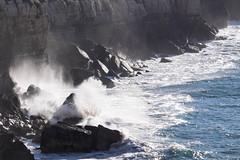 On Dancing Ledge (Rainer ) Tags: wellen waves powerunleashed miengo kantabrien bayofbiscay biskaya ngc espaa spanien spain espagne color sommer2016 rainer