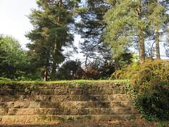The War Memorial Park, Stivichall, Coventry (LookaroundAnne) Tags: gwuk wall retainingwall park coventry