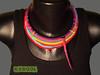 [Colar] C #93 (*kathamina) Tags: crochet crochetjewelry kawool ooak necklace colar wetfelting handmade