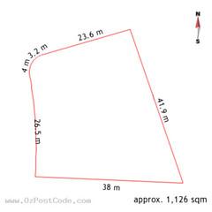 43 Brophy Street, Fraser 2615 ACT land size