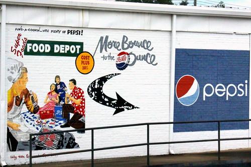 Luverne, AL Pepesi-Cola mural 4 - Food Depot