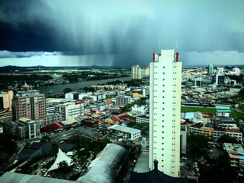 #thestrom is coming..  #subahanallah  #instaphoto #abb  #cucubujang  #kuchingsarawak  #kuchingview