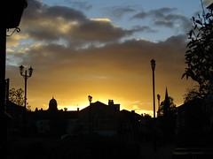 Sunset New Brighton, Wirral (bikerchick2009) Tags: sunset evening street newbrighton wirral merseyside sky skyline light autumn lamps england