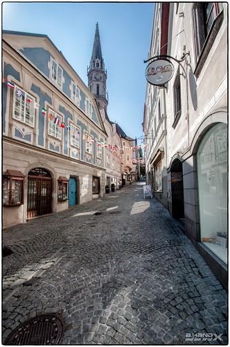Steyr - Die Pfarrgasse